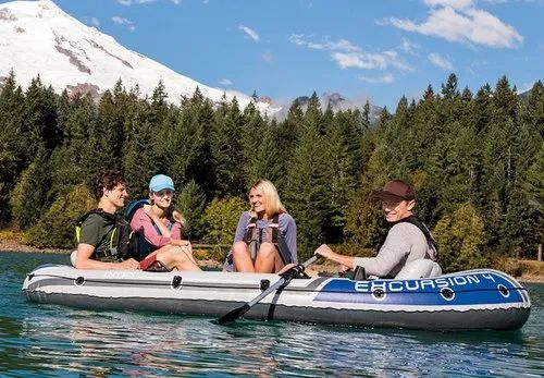 Intex Excursion 4 Inflatable Boat For Four Persons