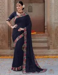 rich Kashmiri saree