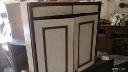 Double Door Wooden Cupboard