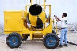 Concrete Mixer With 2 Leg