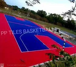 PP Interlocking Tiles Sports Flooring, 15-20 mm