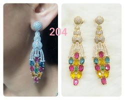 Newly Design AD Earrings For Women