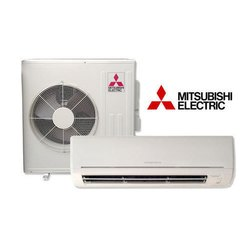 White Mitsubishi Split Air Conditioners