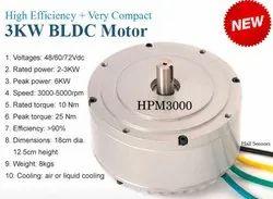 2-10KW 2000-6000 RPM EV 2 Wheeler Motor, For Automobile, Customization