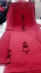 Woolen Regular Printed kurti plazzo set