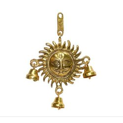 Brass Sun Wall Hanging