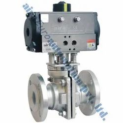 Pneumatic PFA Ball Valve