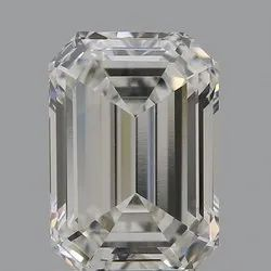 Emerald Cut CVD Diamond 1.52ct H VVS2 IGI Certified