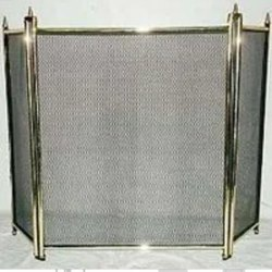 Full Brass Fire Screen.
