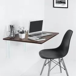 Wall Mount Wooden Folding Study Table
