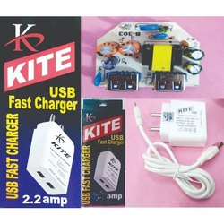 Kite Double USB Mobile Phone Fast Charger