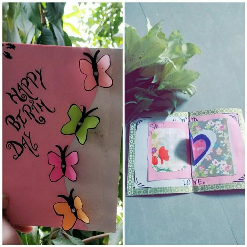 Groovy Handmade Greeting Card For Birthday At Rs 60 Number Near Rao Funny Birthday Cards Online Fluifree Goldxyz