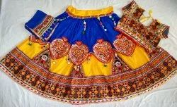Women Embroidered Lehenga Choli - Ethnic Gujarati Ghagra Choli