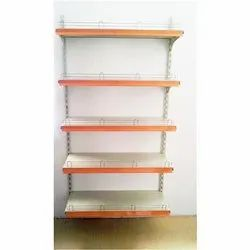 Departmental Store Wall Mount Rack