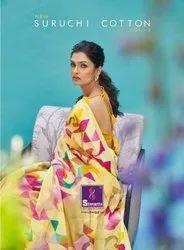 Shangrila Suruchi Cotton Vol-3 Linen Cotton Saree Catalog