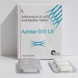 Azithromycin & Lactic Acid Bacillus Tablet