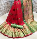 Lichi Cotton Silk Saree