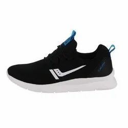 Black Men Calcetto Running Shoes, Size