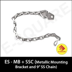 Metallic Mounting Bracket And SS Chain