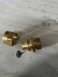 Silver Brass Sanitary Parts