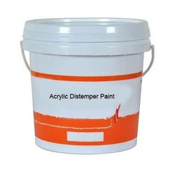 Techno India High Gloss Wall Acrylic Distemper Paint, Packaging Type: Bucket