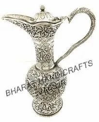 Antique Silver plated jug