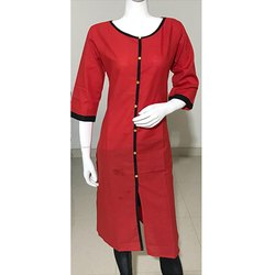 Red Formal Wear Kurti
