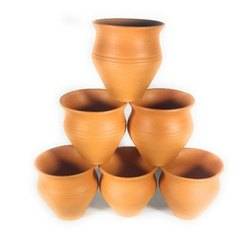 Modern Brown 70ml Clay Kulhad