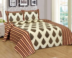 Designer Cotton Double Bed Sheet