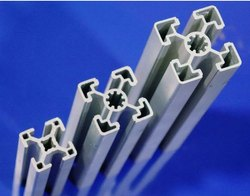 SQUARE T Slot Aluminum Profile, Thickness: Standard, 40 X 40