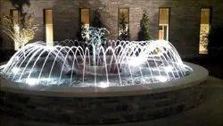 Rgb Colour Ring Fountain
