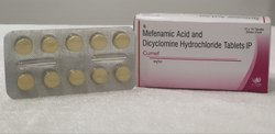 Mefenamic Acid and Dicyclomine Hydrochloride Tablets IP