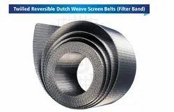Twilled Reversible Dutch Weave Screen Belts