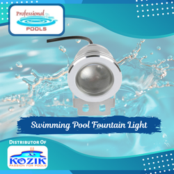 Swimming Pool Fountain Light