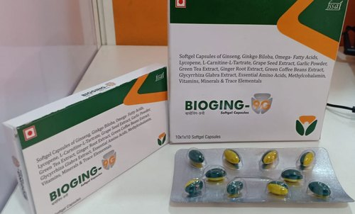 Men 9G Multivitamin Softgel Capsules, Packaging Type: Blister