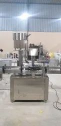 Stainless Steel Sanitizer Filling Machine