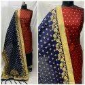 Ladies Banarasi Suit Material