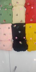 Rayon Embroidery Fabric