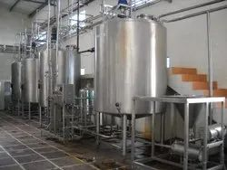 Automatic Stainless Steel Fruit Juice Processing Plant, 50 Hp, Capacity: 200-2000 Ltrs/Hrs