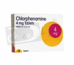Chlorphenamine Tablets B.P. 4 Mg