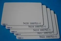 Double Sided HID Access Card, Shape: Rectangular, Thickness: 30 Mil