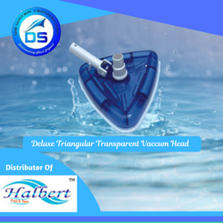 Deluxe Triangular Transparent Vaccum Head