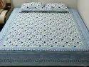 Hand Block Double Bedsheets