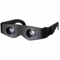 400% Magnification Magnifying Headband Magnifiers Glasses Telescope, (Black 1 PCs.)