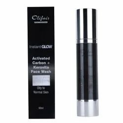 Herbal Olifair Activated Carbon Face Wash, Age Group: Adults, Packaging Size: 50 Ml