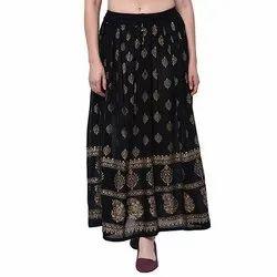 58cf2ceb2ae Ladies Rayon Skirt - Women Rayon Skirt Latest Price