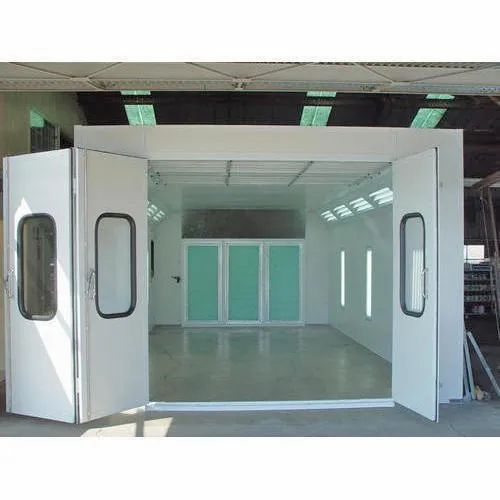 Industrial Spray Booth, Automation Grade: Automatic