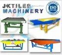 Vibrating Table For Paving Tiles