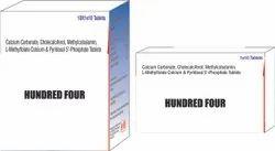 Calcium Carbonate Cholecalciferol Methylcobalamin L Methyfolate Calcium & Pyridoxal 5 Phosphate Tab