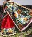 Hand Painting Kerala Cotton Saree